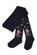 Baby and Children Tights. Santa and rock'n'roll:Size:18-24 months,Colour
