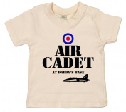 IiE, Air Cadet at Daddy's base, Baby Girl T-shirt