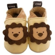 Soft leather baby shoes boys | Little lion