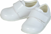 Smart Baby Boys White Patent Shoes