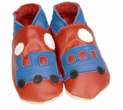 Daisy Roots Train Baby Shoes Soft Leather