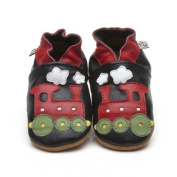 Soft Leather Baby Shoes Train 3-4 years