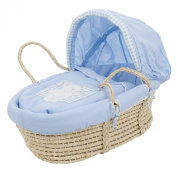 Obaby B is for Bear Moses Basket for Newborn