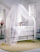 White Baby Canopy / Mosquito Net for Cot