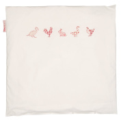 Taftan Chicken and Friends Duvet Cover 80 x 80cm for Crib and Pram