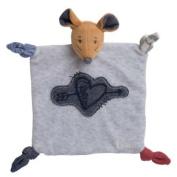 Kaloo - Blue Denim DouDou Mouse Sweetheart - Comforter Blanket