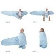 Miracle Blanket Swaddling - Blue
