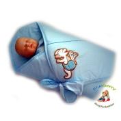 PRETTY NEWBORN Swaddle Wrap Blanket, duvet, Sleeping Bag satin cotton