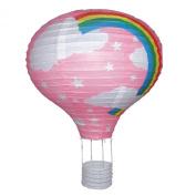 Rainbow Balloon Paper Light Shade - PINK