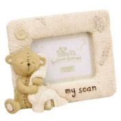 Button Corner 'My Scan' resin photo frame 3'' x 2''