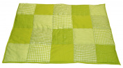 Taftan 100% Cotton Patchwork Cheques Playpen Mat 100 x 80cm