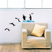 Diving Penguins Wall Stickers DS-08235