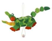 SEVI 1831 - Jumping Jacks - Puppet Moovi mals Crocodile - cm 14