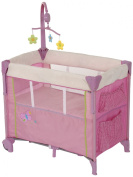 Hauck Dream N Care Centre Travel Cot, Butterfly