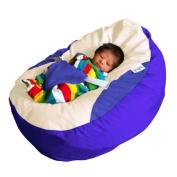 GaGa Royal Blue Baby Bean Bag