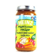 Heinz 7 Month Mum's Own Sweet & Sour Chicken 200g