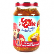 Cow & Gate 7 Month Spaghetti Bolognese Jar 200g