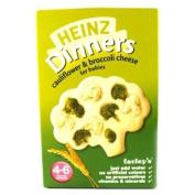 Heinz 4 Month Savoury Cauliflower, Broccoli & Cheese Packet 125g