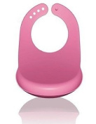 Griptight - Pink Easy Wipe Plastic Bib