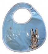 Beatrix Potter Peter Rabbit Blue Baby Bib