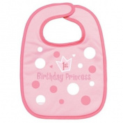 1st Birthday Princess Fabric Bib