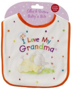 I Love My Grandma Elliot & Buttons Baby's Bib