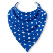 Baby Bandana Bib in SMURF by Babble Bib