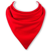Baby Bandana Bib in SPORTS CAR RED by Babble Bib