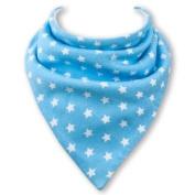 Baby Bandana Bib in BLUE STARS by Babble Bib