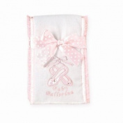 Baby Ballerina Burping Cloth/Muslin by Bearington Baby.