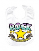 Rock Star In Training Bib
