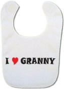 I love Granny baby bib