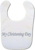 My Christening Day baby bib