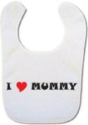 Baby bib with I Love Mummy