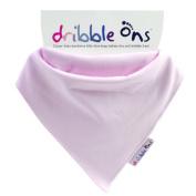 Sock Ons Dribble Ons Dribble Bib - Various Colours Baby Pink