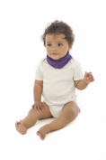 Snoodie Dribble Bib (Purple)