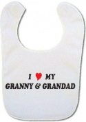 I love my Granny & Grandad Baby Bib
