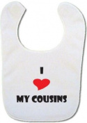 I love my Cousins baby bib