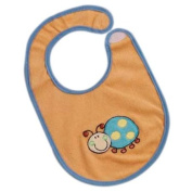 Bolin Bolon 1337779016200 Bib Large Embroidered with Round Neck Cut-Out 80 % Cotton 20 % Polyester with Ladybird Motif