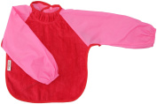 Silly billyz 4260403 Long Sleeve Bib Red and Pink 18-36 Months