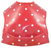 Cornish Daisy Red Polka Dot Feeding Bib