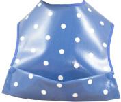 Cornish Daisy Blue Polka Dot Pod Feeding Bib