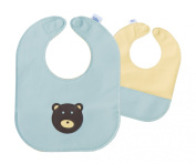 Bear Leather Bib