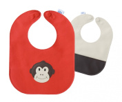 Monkey Leather Bib