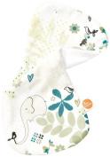 millemarille ST18 Burping Cloth Elegant Elephant