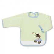 Sterntaler 16264 - Bib with Sleeves Emmi light green
