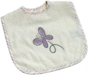 Be Be's Collection - bib - butterfly - purple 30x40