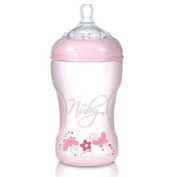 Nuby Natural Touch NT68010 Polypropylene Bottle 330 ml Pink
