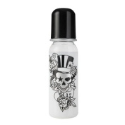 Rock Star Baby Bottle Tattoo-Pirat 250ml