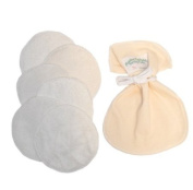 Bamboo Washable Breast Pads. Made in Britain.